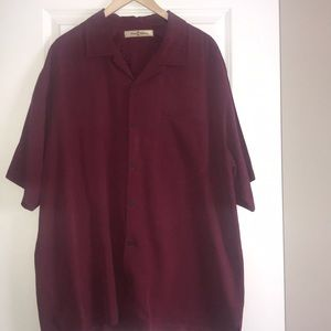 Tommy Bahama Silk button down shirt